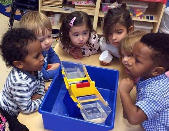 In preschool, play is learning and learning is play.