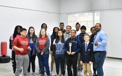 Our Dragonbots Team competed this past weekend