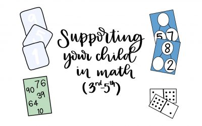 How to Support Your Child in Math (3rd-5th)